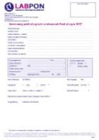 Radiologie MST aanvraagformulier pathologisch onderzoek