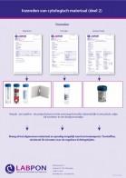 Poster inzendinstructie cytologie deel 2 Frontoffice